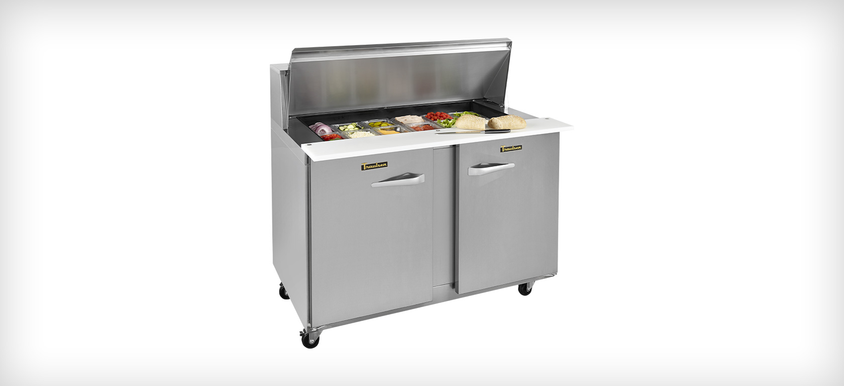 UPT48 Prep Table with Lid