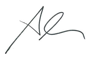 Alan Squier fake signature